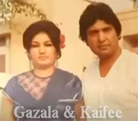 Ghazala and Kaifee