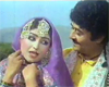 Anjuman and Ejaz in film Kaliar (1984)
