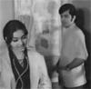 Waheed Murad and Aliya in Mastana Mahi (1971)