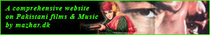 A comprehensive website on Pakistani films, filmstars and film music created and maintained by Mazhar Iqbal