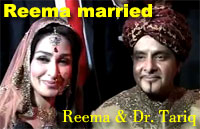 Reema married in USA