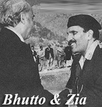 Zulfikar Ali Bhutto and General Zia